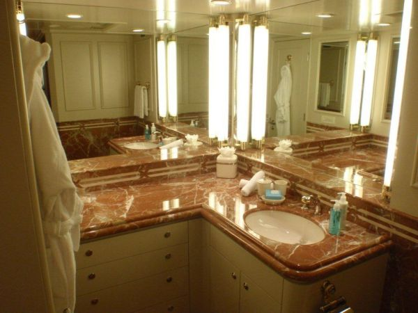 His & Her Master Bath