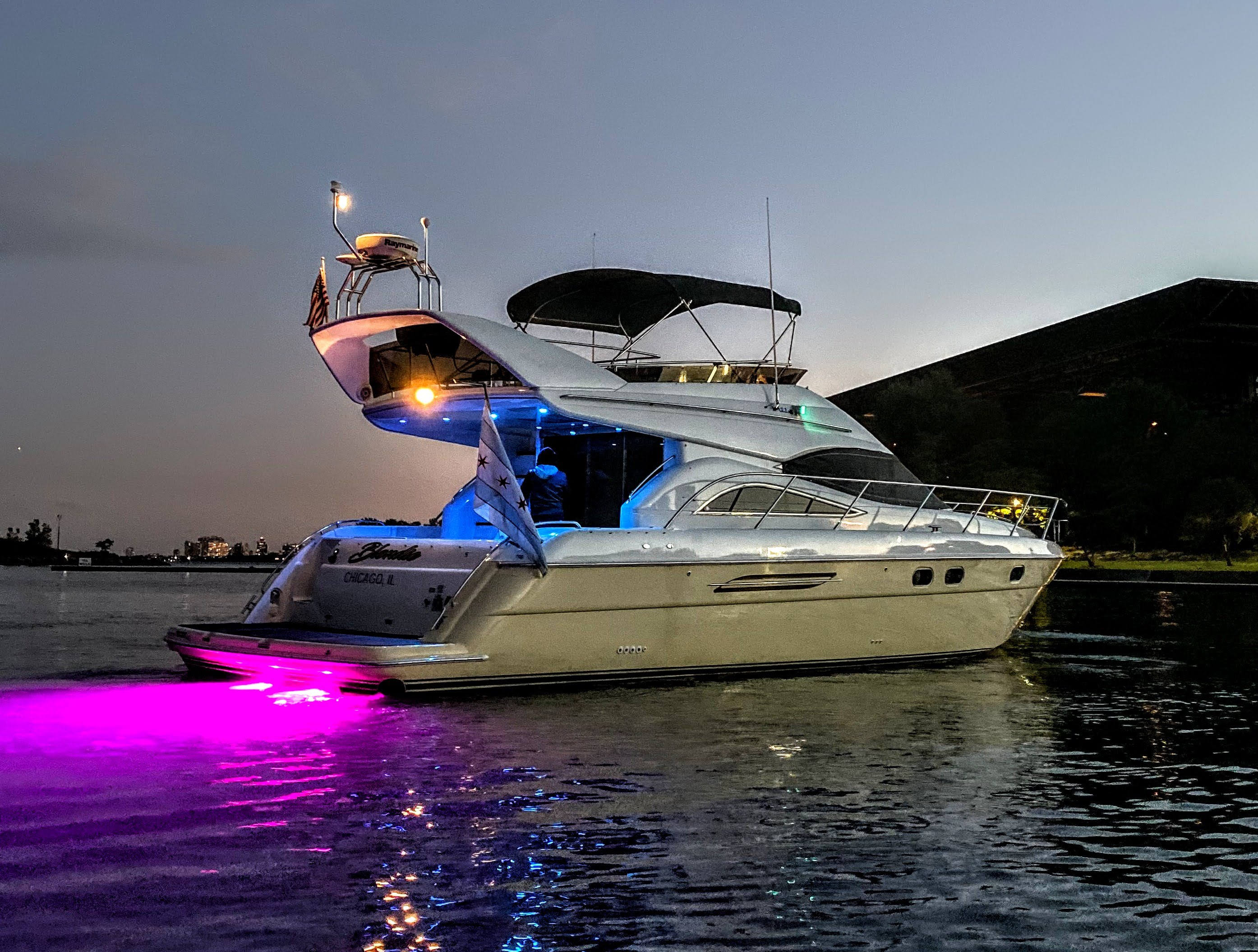 Viking Sport Cruisers 52 FLY UW Lights - multi color