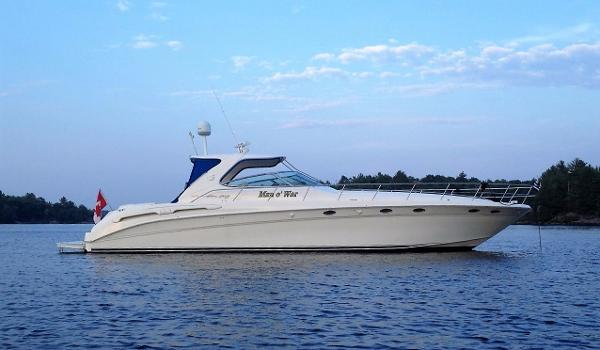Sea Ray 540 Sundancer Profile - Stb