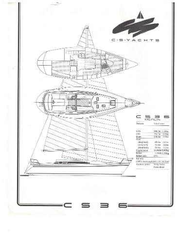 CS Merlin 36 Brochure specs