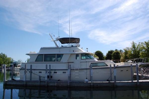 Hatteras 53 Extended Deckhouse Motor Yacht 53' 1983 Hatteras Extended Deck Motor Yacht