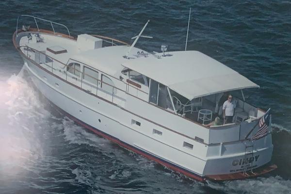 Burger 53' Flushdeck Motor Yacht