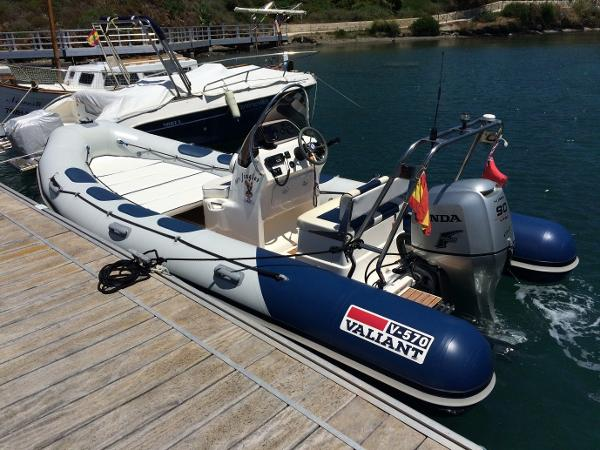 Valiant Vanguard 570 Valiant Vanguard 570 RIB for sale in Menorca - Clearwater Marine