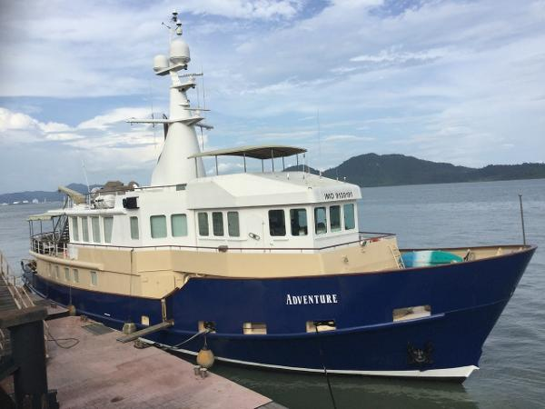 Custom Veb J. Warnke Expedition Vessel Profile