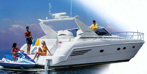 Trojan 400 Express Yacht Manufacturer Provided Image