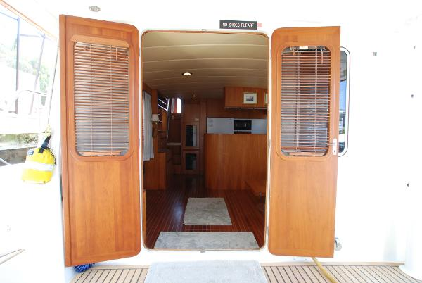 Double Doors From Cockpit To Salon