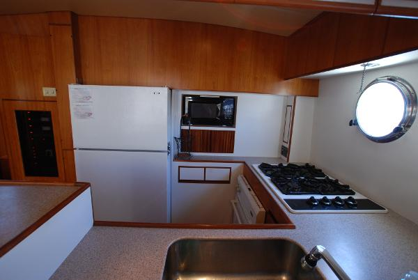 Starboard Galley In Salon