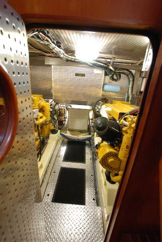 Immaculate Engine Room