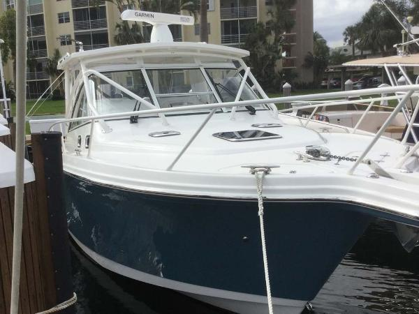 Edgewater 335 EX Express Profile
