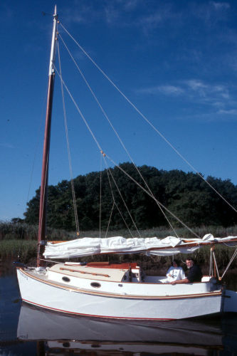 Cape Cod Catboat Photo 1
