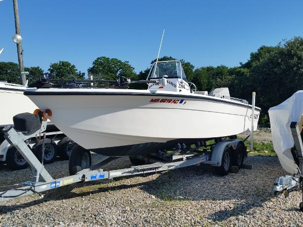 Angler Boats 2200 CC repower 2013