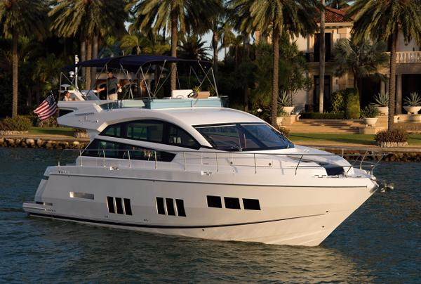 Fairline Squadron 50 Side View
