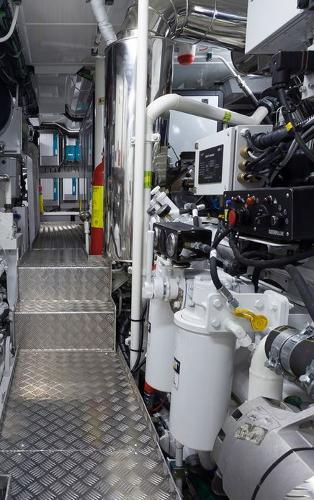 Conrad 115 Lunar Engine Room