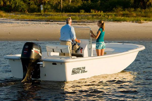Carolina Skiff 218 DLV Manufacturer Provided Image
