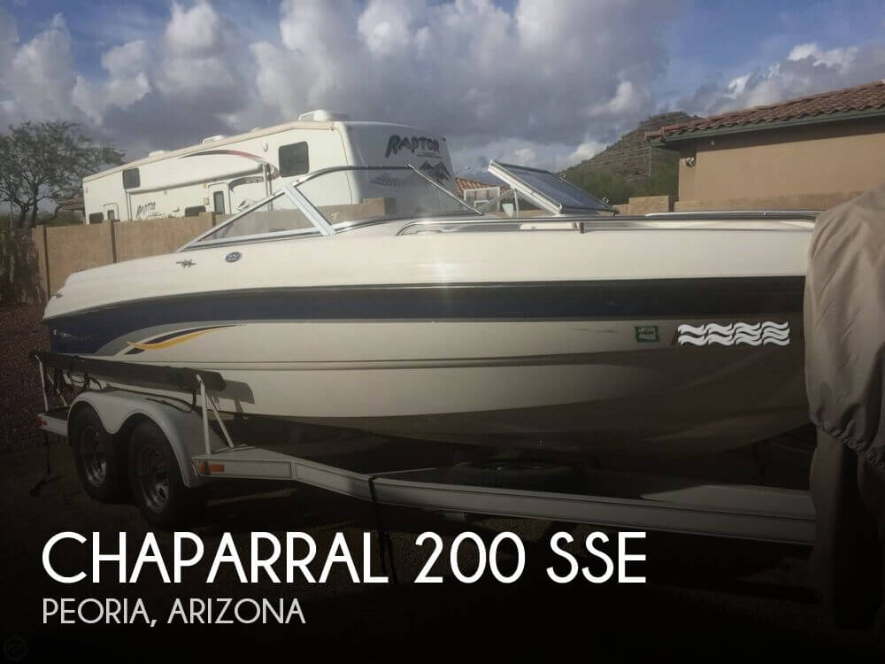 Chaparral 200 SSe 2001 Chaparral 200 SSE for sale in Peoria, AZ