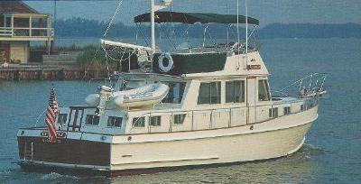 Marine Projects Grand Banks 46 Heritage Classic Prospektfoto 1