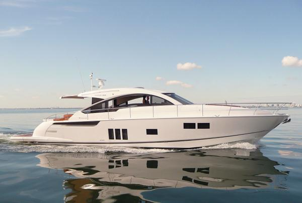Fairline Targa 62 Gran Turismo Manufacturer Provided Image: Fairline Targa 62 Gran Turismo