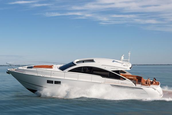 Fairline Targa 62 Gran Turismo Side View