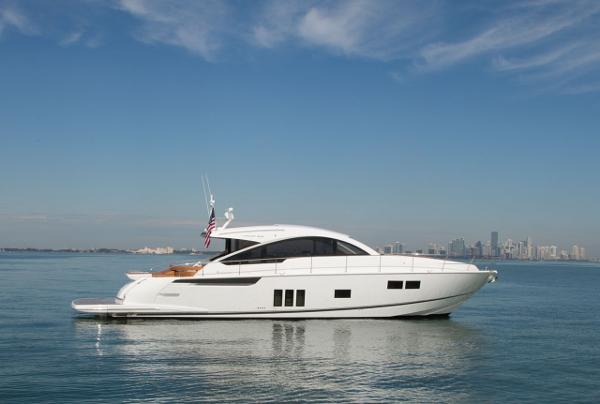 Fairline Targa 62 Gran Turismo Manufacturer Provided Image: Fairline Targa 62 Gran Turismo Side View