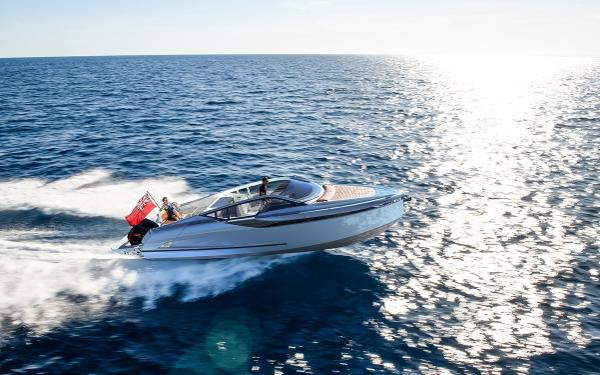 Fairline F//Line 33 Outboard Manufacturer Provided Image: Fairline F//Line 33 Outboard