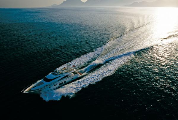 Fairline Squadron 78 Custom View From Above
