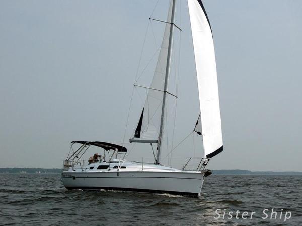 Hunter 33 Hunter 33 twin keel - AYC Yachtbroker