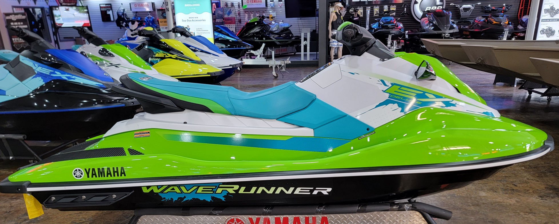 Yamaha Boats EX DELUXE- LIME GREEN