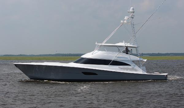 Viking 92 Convertible Port Side