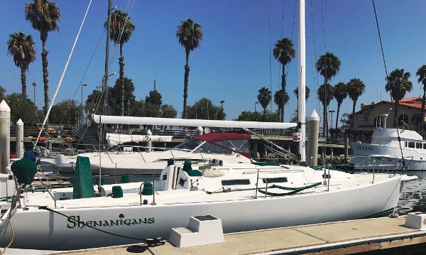 J Boats J/120 Starboard profile with name