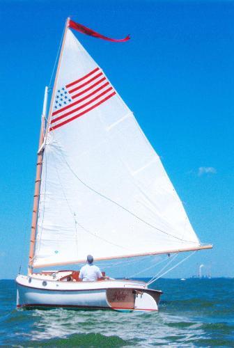 Herreshoff 18' Cat Boat