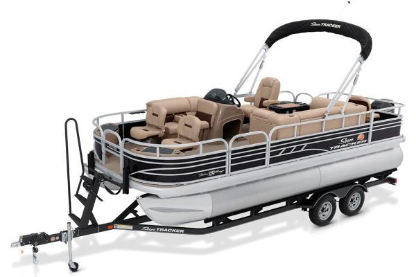 Sun Tracker Fishin' Barge 20 DLX Manufacturer Provided Image