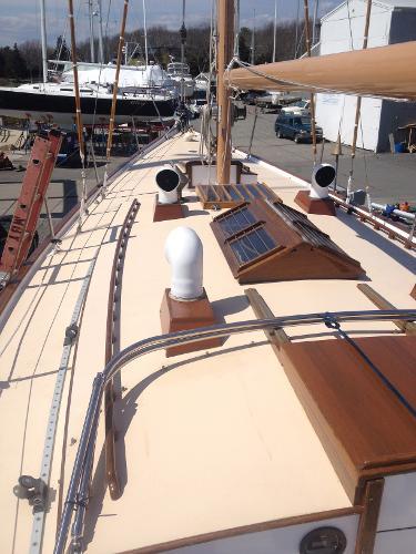 Port Deck Looking Fwd