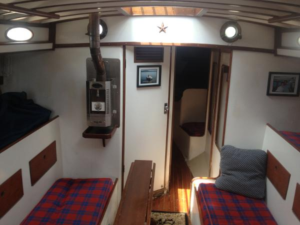 Cabin Looking FWD