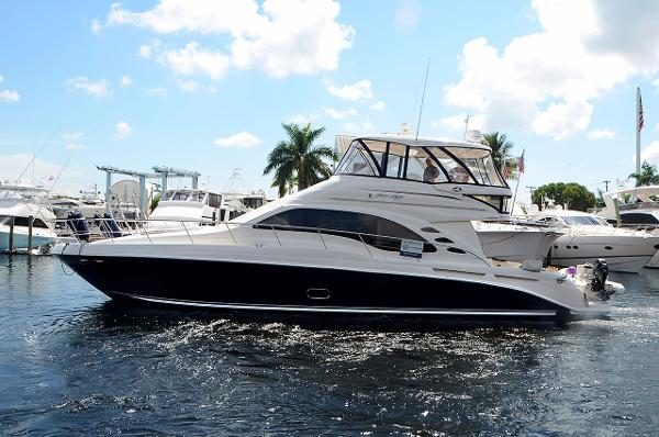 Sea Ray 550 Sedan Bridge 55' Sea Ray Motor Yacht OUR SERENITY