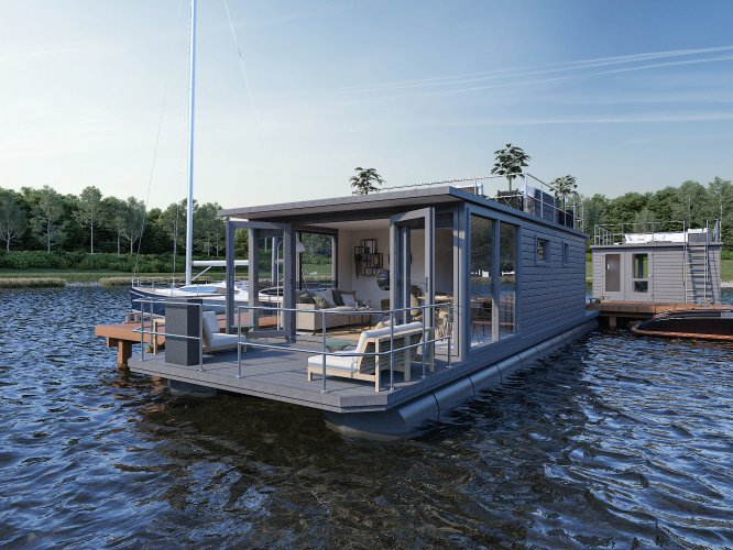 Havenlodge Castalia Houseboat