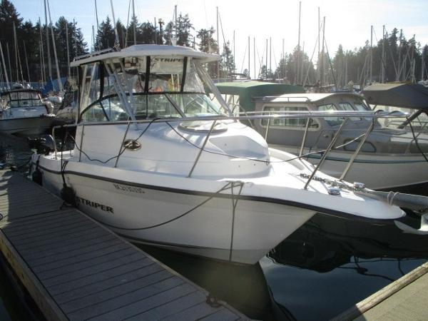 Seaswirl Striper 2301 Walkaround OB