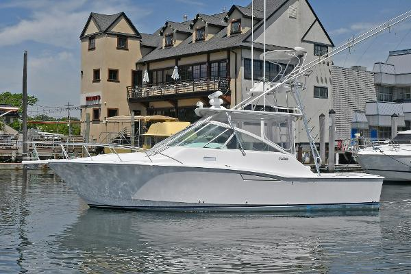 Cabo 35 Express Port Side