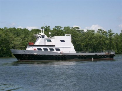 Custom Crew/ Supply Catamaran