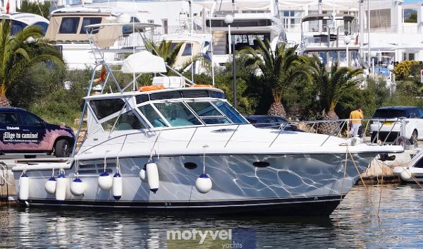 Tiara 4100 Open Tiara 4100 on Mallorca