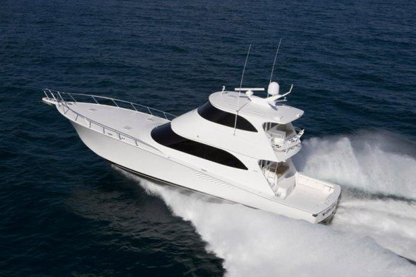 Viking Yachts 70 Enclosed Bridge Profile