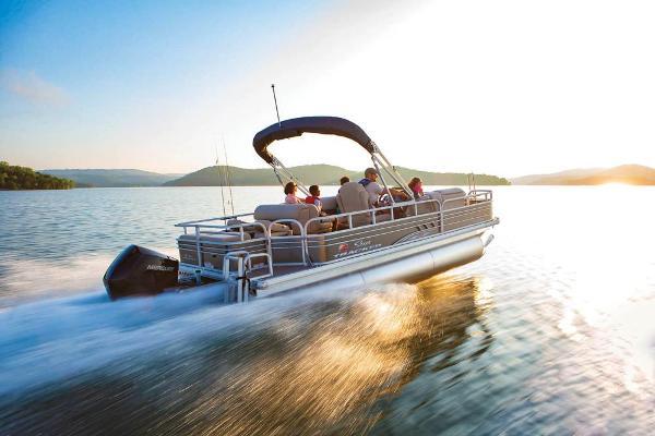 Sun Tracker Fishin' Barge 22 XP3 Manufacturer Provided Image: Manufacturer Provided Image