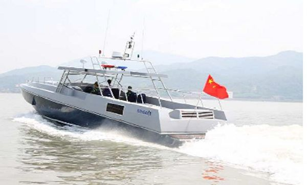 14.18m Fast Interceptor Boat To be built in China
