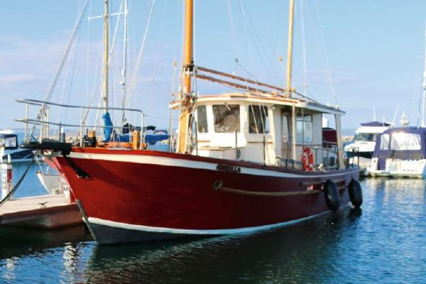 Bruce Roberts PCF 40 Ketch Rig Bruce Roberts PCF 40