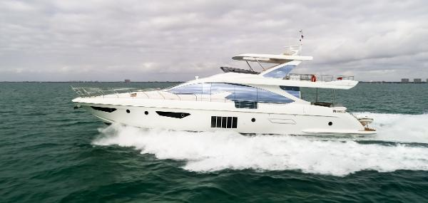 Azimut 80 Flybridge Port Profile