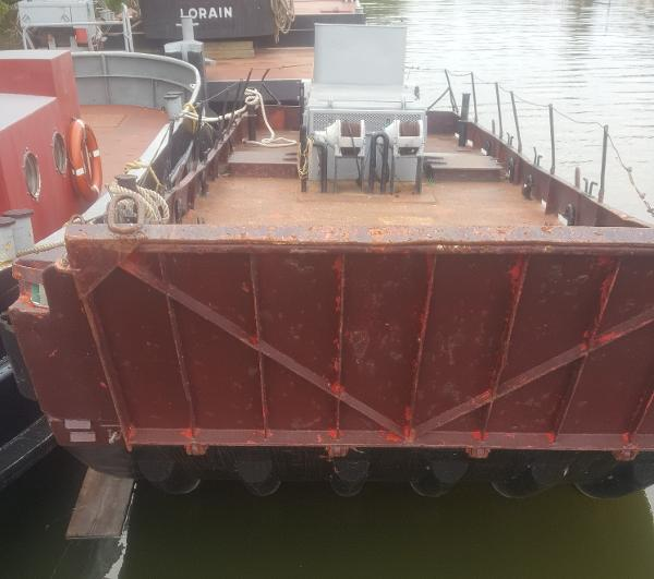 Commercial 30' Landing Barge w/Azipod