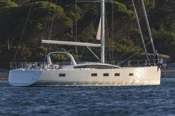 Jeanneau 64 Jeanneau 64 At Anchor