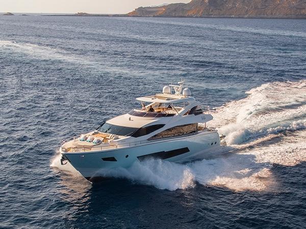 Fußboden Yacht ~ Sunseeker yacht mallorca spain boats