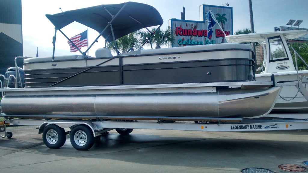 Crest Pontoon Boats 250 SLC