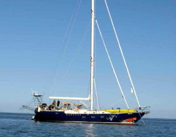 Custom Steel Sailboat