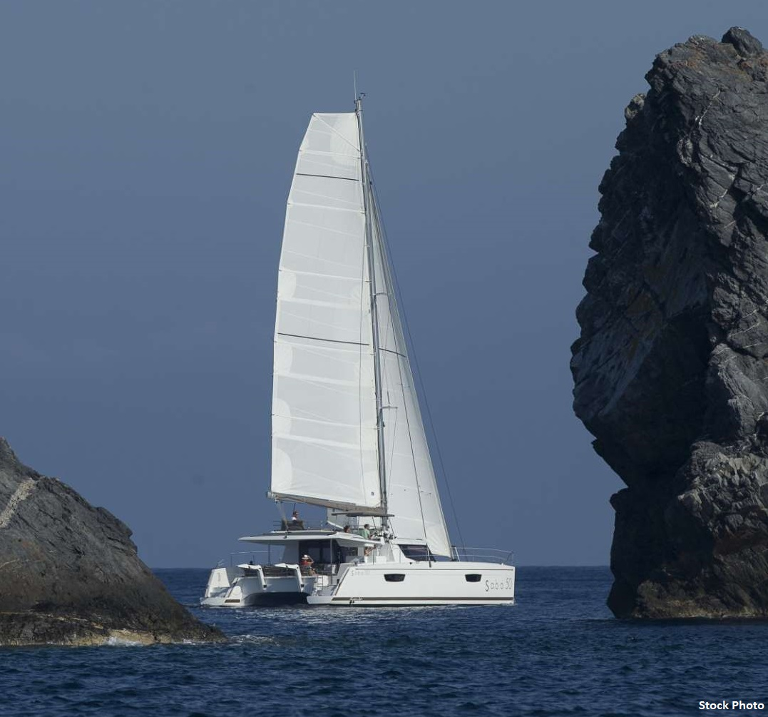 Fountaine Pajot SABA 50 Stand by One - Sailing